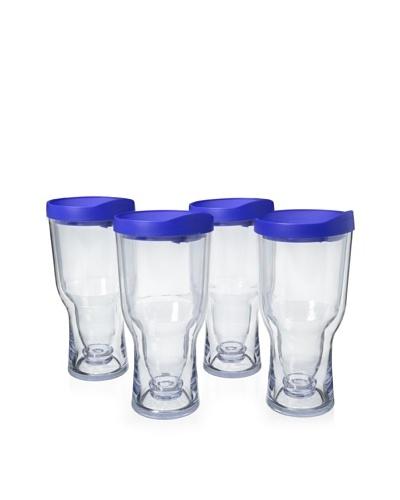 AdNArt Set of 4 Brew to Go, Blue