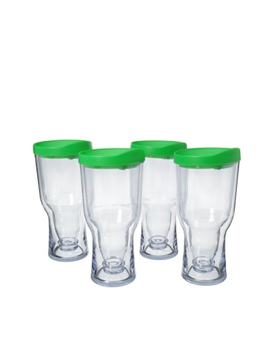 AdNArt Set of 4 Brew to Go, Green