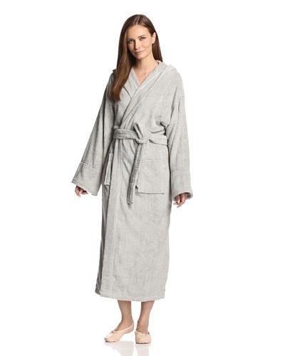 Aegean Apparel Women's Long Robe with Hood