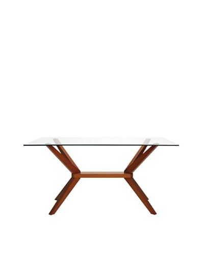 Aeon Euro Home Collection Greenwich Table, Cherry