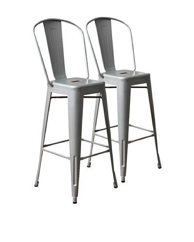 Aeon Furniture Set of 2 Garvin Barstools