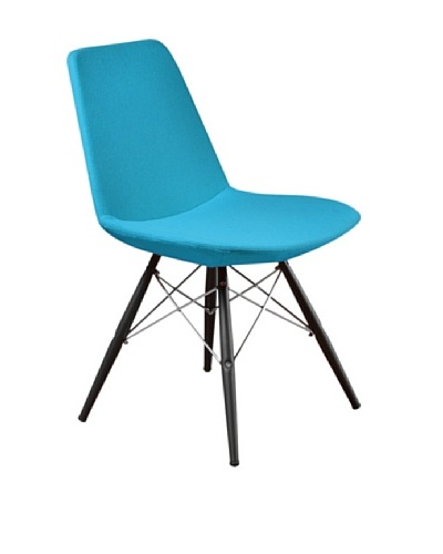 Aeon Furniture Paris 5 Side Chair, Turquoise