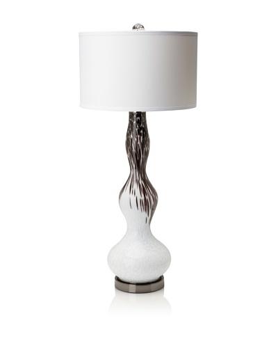 Candice Olson Lighting Whisper Table Lamp [Black/White]