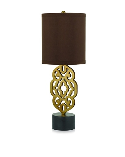 Candice Olson Lighting Grill Table Lamp [Antique Brass]