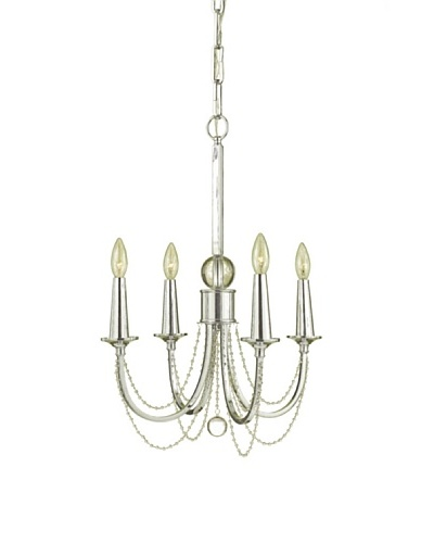 Candice Olson Lighting Shelby Chandelier, Chrome