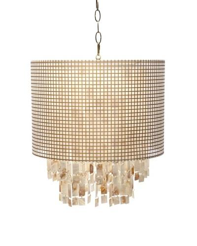 AF Lighting Horizon Series Lola Pendant Lamp, Gold
