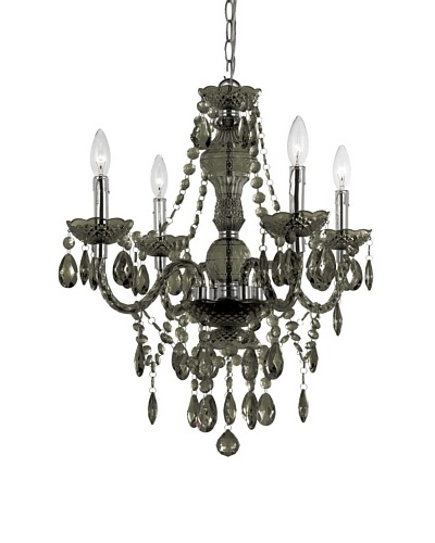 Naples Mini Chandelier [Black]