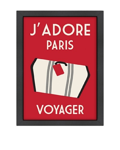Alan Walsh J'Adore Paris, Voyager