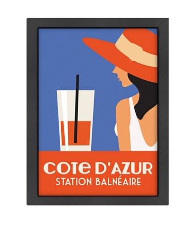 "Alan Walsh ""Côte d'Azure, Station Balnéaire, Orange"""