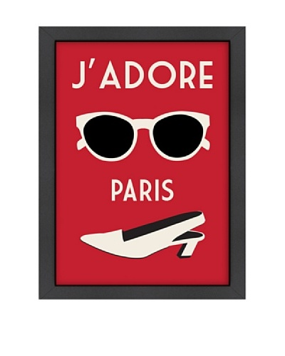 "Alan Walsh ""J'Adore Paris, Rouge"""