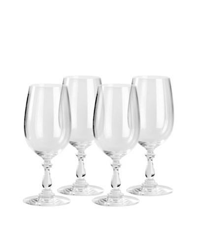 Alessi Set of 4 Dressed 12.75-Oz. White Wine Glasses