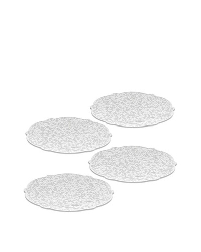Alessi Set of 4 Dressed Saucers