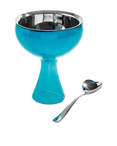 Alessi A Di Alessi Big Love Ice Cream Bowl & Spoon