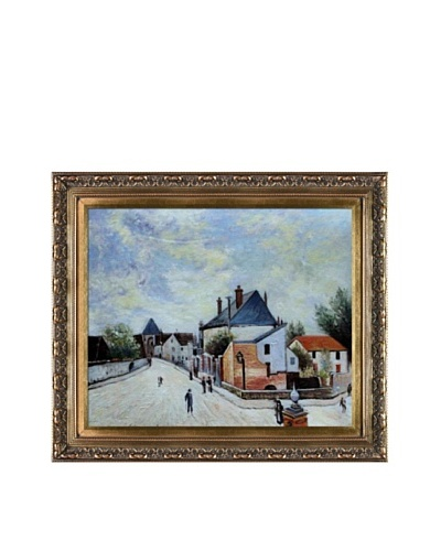 Alfred Sisley Street in Moret (Porte de Bourgogne from across the Bridge)As You See