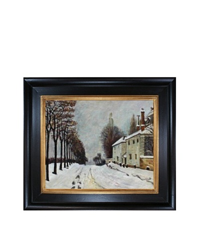 Alfred Sisley Snow on the Road, LouveciennesAs You See