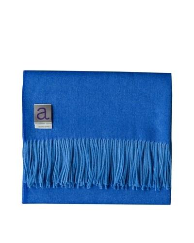 Alicia Adams Alpaca Maya Alpaca-Blend Throw, Blue, 51 x 71