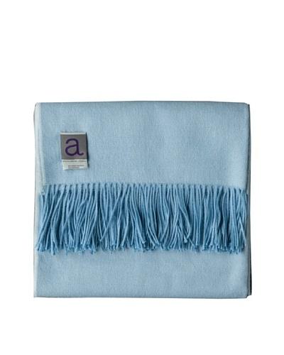 Alicia Adams Alpaca Maya Alpaca-Blend Throw, Electric Blue, 51 x 71