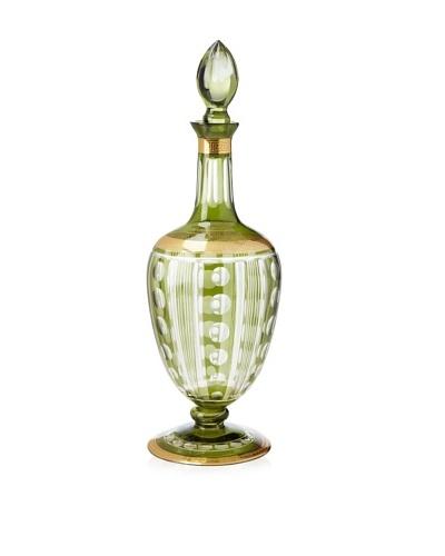 Opulent Antique Cut Glass Bottle