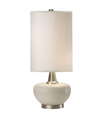 Allison Davis Blanco Table Lamp, White