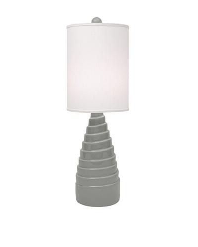 Allison Davis Spiral Table Lamp, Grey