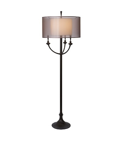 Allison Davis Ivana Floor Lamp, Bronze