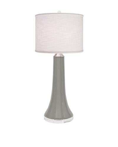 Allison Davis Juicy Linen Shade Table Lamp, Grey