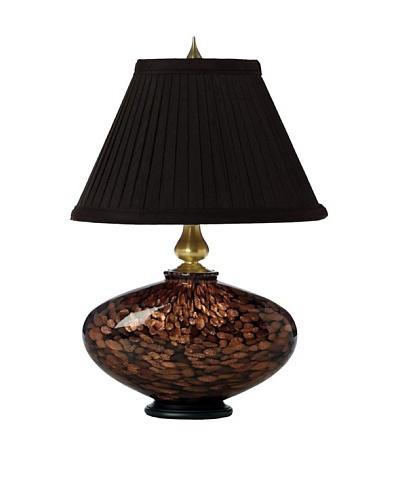 Allison Davis Cache Table Lamp, Black/Gold