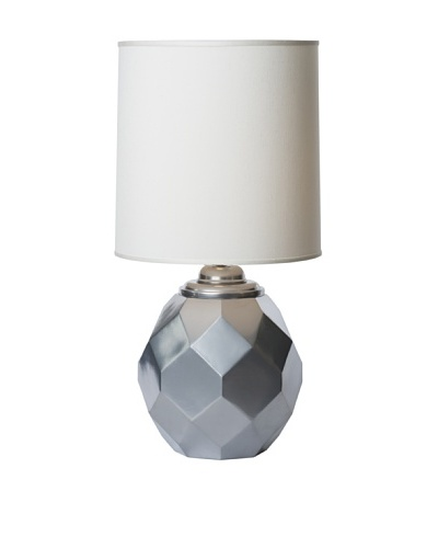 Allison Davis Silvadillo Table Lamp, Silver