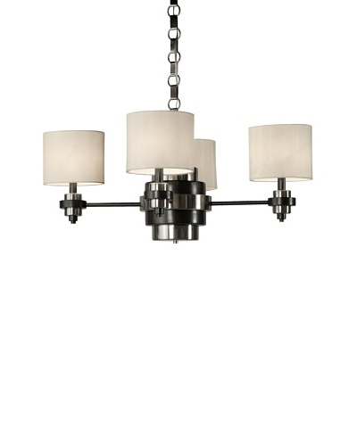 Allison Davis Manhattan Chandelier, Bronze
