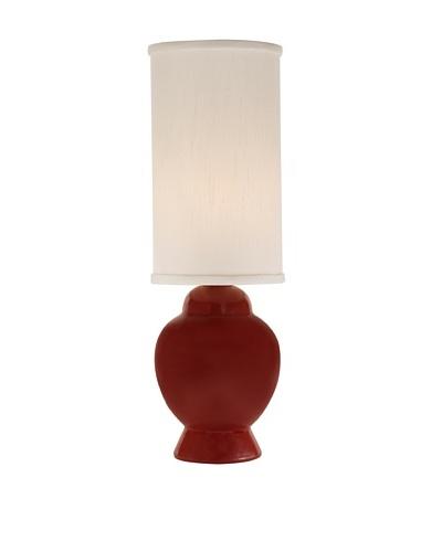 Allison Davis Design Lighting Ginger Table Lamp [Red/White]