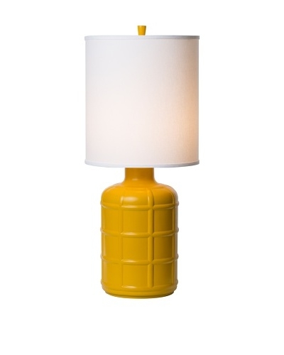 Allison Davis Design Lighting Orleans Table Lamp [Lamp-Yellow Shade-White]