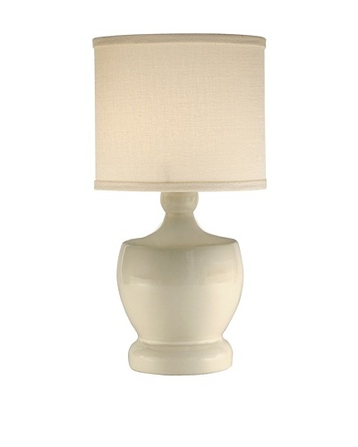 Allison Davis Design Lighting Fleur-de-Lis Table Lamp [Eggshell]