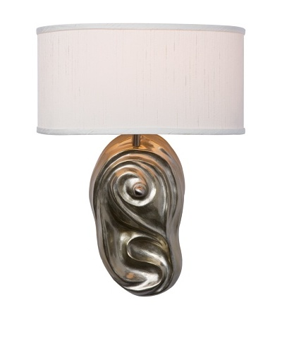 Allison Davis Design Lighting Cascade Wall Sconce, Milano Silver/White
