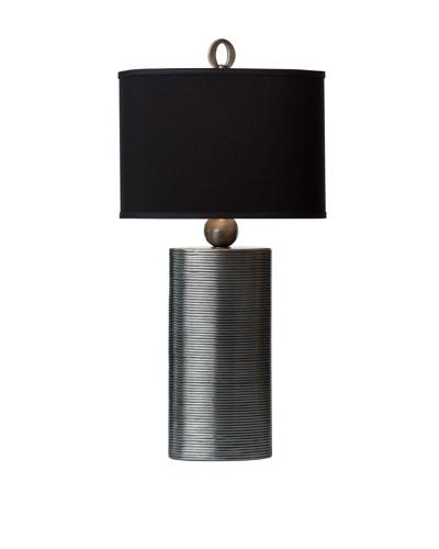 Allison Davis Design Lighting Reflection Table Lamp [Pewter/Black]