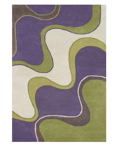 Alliyah Rugs Large Waves Rug