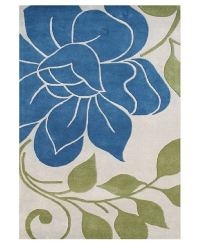 Alliyah Rugs Alliyah Collection [Beige/Blue/Green]