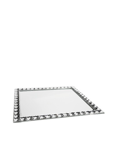Jewel Accent Mirror Rectangle Tray/Wall Hanging
