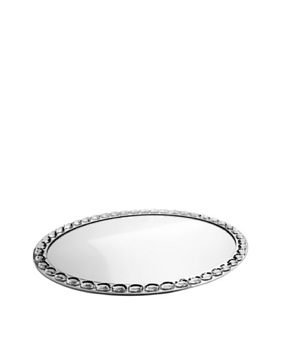 Jewel Accent Mirror Oval Tray/Wall Hanging