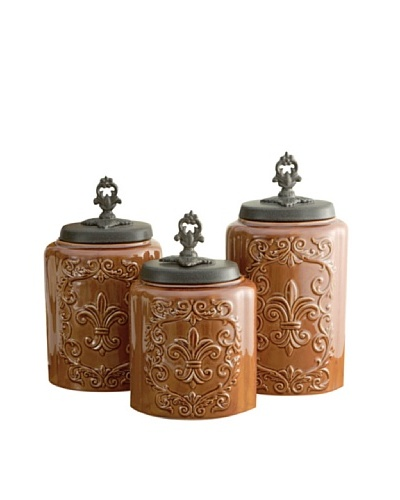 American Atelier Set of 3 Canisters