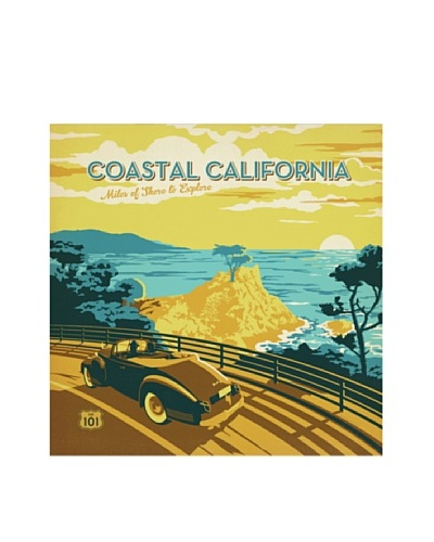 American Flat Coastal California