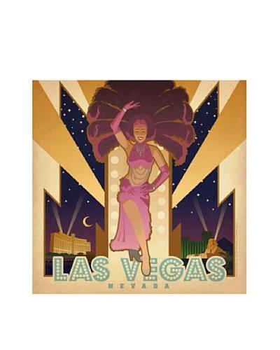American Flat Las Vegas Showgirl