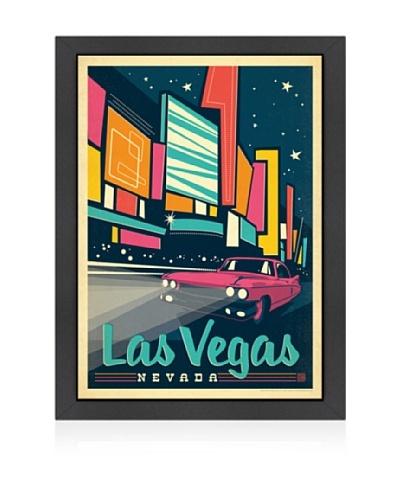 American Flat Las Vegas: Modern Print