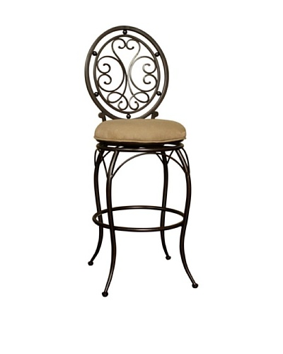 American Heritage Billiards Opus Counter Stool, Light Brown