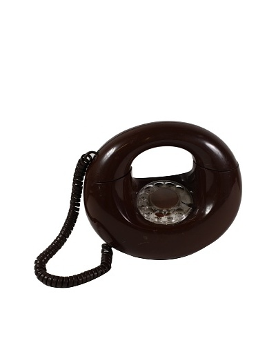 American Telecommunications Corp Vintage Telephone, Brown