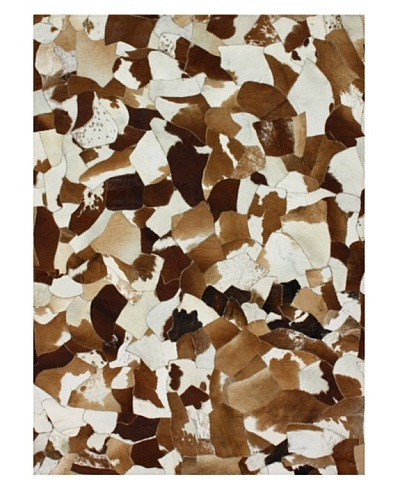 nuLOOM Cowhide Patch Rug