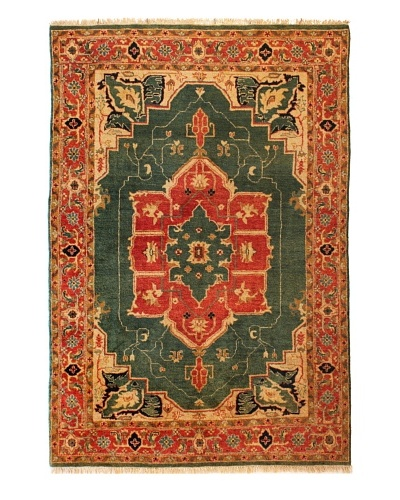 nuLOOM Hand-Knotted Serapi Rug
