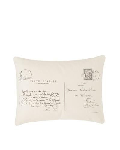 Amity Postcard Pillow, Natural