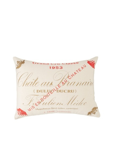 Amity Chateau Wine Pillow, Natural