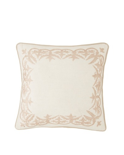 Amity Sabrina Square Pillow, Natural