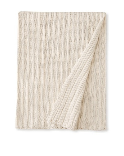Amity Pam Throw, Natural, 50 x 60